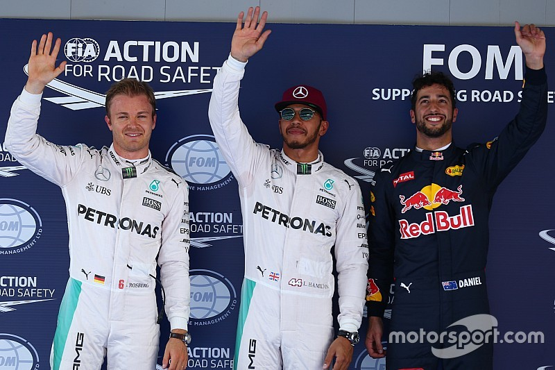 Qualifs - Hamilton avec la manière, Red Bull supplante Ferrari !