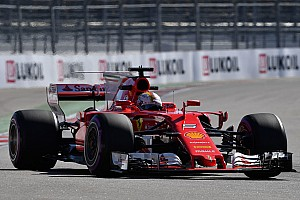 Russian GP: Vettel leads stunning Ferrari 1-2 at Sochi
