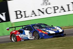 BES Ultime notizie Rigon sfiora il podio a Silverstone nelle Blancpain Endurance Series