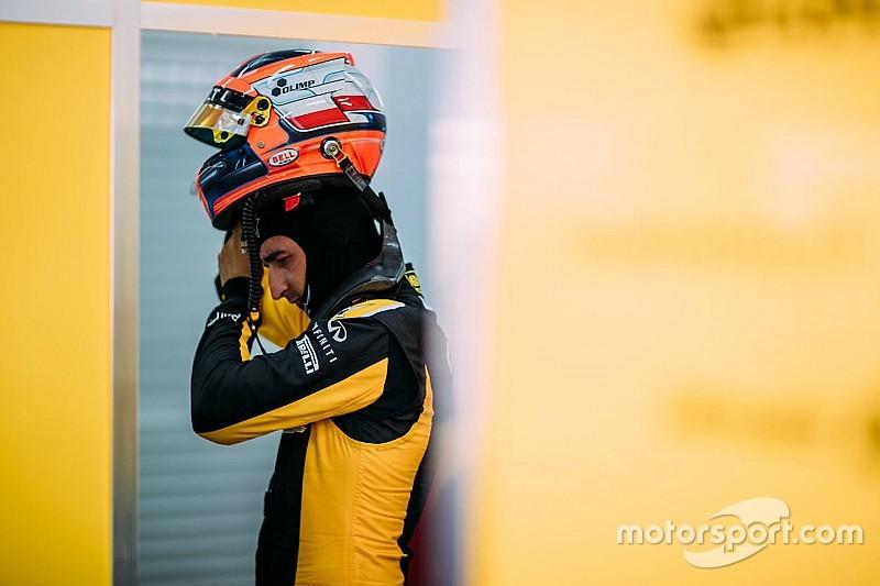Renault: Kubica não está na lista da equipe para 2018