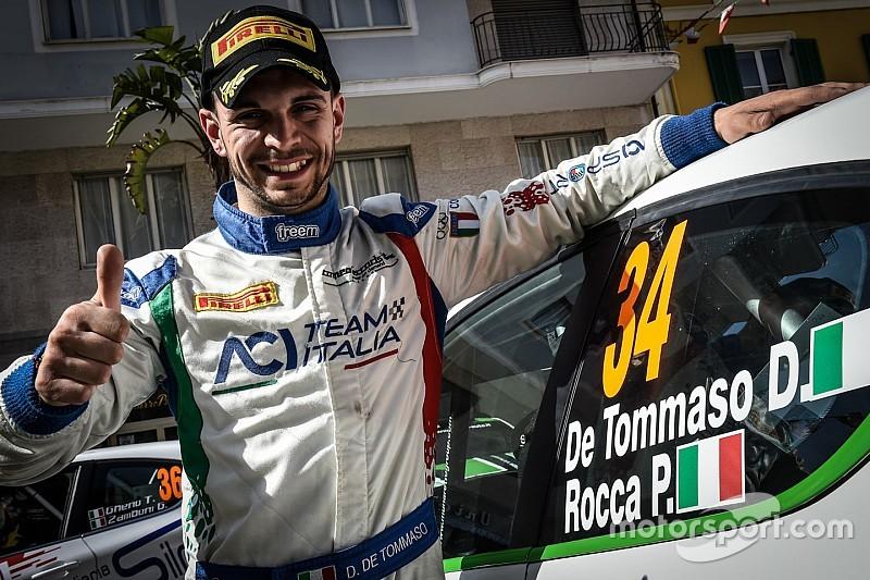 Damiano De Tommaso pilota ufficiale Peugeot in R2 nel 2018