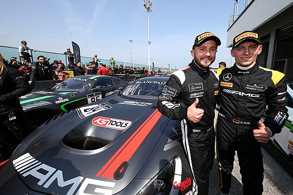 Buhk, Perera win first leg of Blancpain Sprint finale