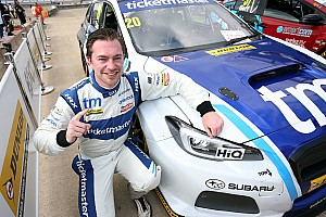 BTCC Race report Rockingham BTCC: Cole takes first win, leads Subaru 1-2