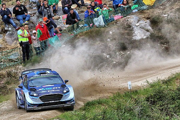 WRC Portugal: Kanshebbers raken in de problemen, Tanak leidt