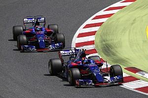 Формула 1 Новость В Toro Rosso не смогли в Барселоне заставить обновления работать