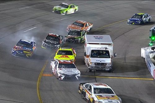 "NASCAR explains ambulance incident, calls it a ""mistake"""