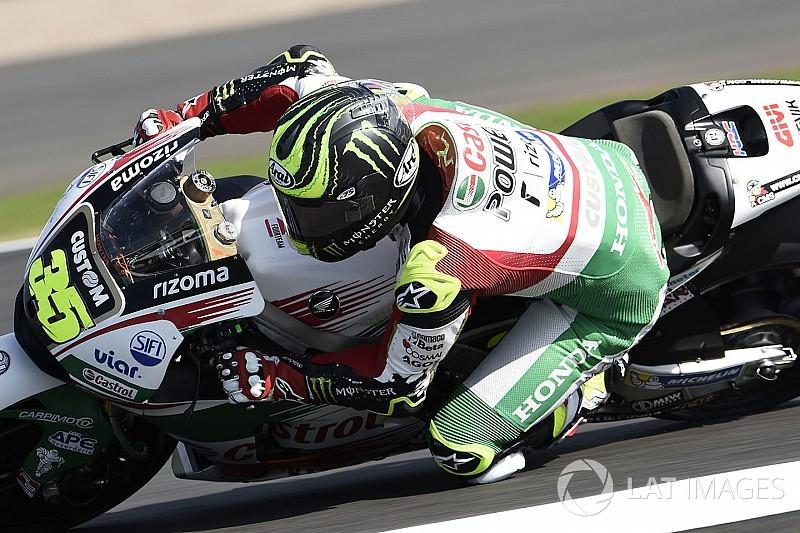 MotoGP 2017 in Silverstone: Crutchlow mit Bestzeit, Sturz für Marquez