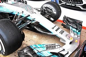 Mercedes perlihatkan upgrade radikal mobil W08