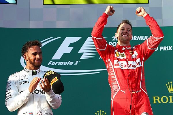 F1 突发新闻 维特尔坦言获胜略有运气