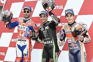 Starting grid MotoGP Jepang 2017
