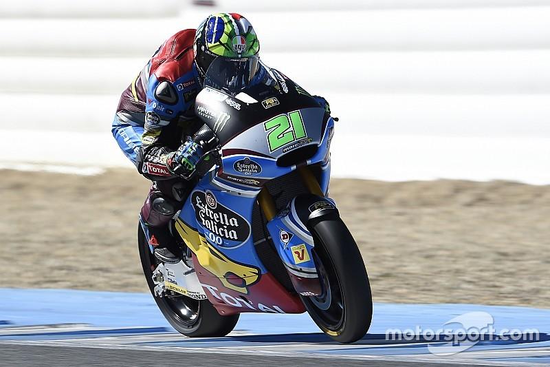 Morbidelli y Márquez lideran los test de Jerez, marcados por el calor