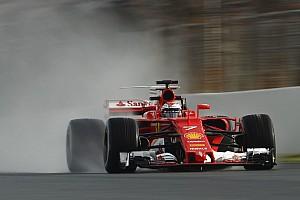 Formule 1 Résumé d'essais Barcelone, J4 - Räikkönen en tête de la journée pluie à midi