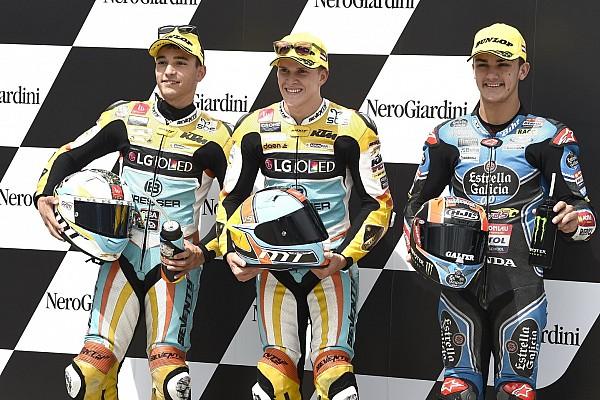 Moto3 Reporte de calificación Segunda pole consecutiva de Gabriel Rodrigo en Moto3