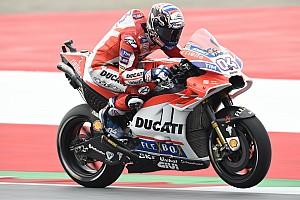 MotoGP Noticias Dovizioso estrenó el carenado de Ducati en Austria