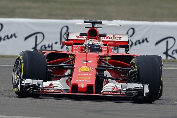 F1 突发新闻 莱科宁完成法拉利新赛车首航