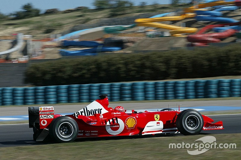 Vettel Michael Schumachert idézi a Ferrarinál