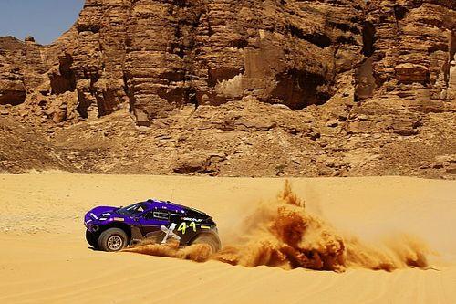 Le team de Lewis Hamilton domine les qualifs du Desert X Prix