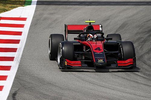 F2: Ilott mantém grande fase e é pole em Barcelona; Drugovich larga em 4º