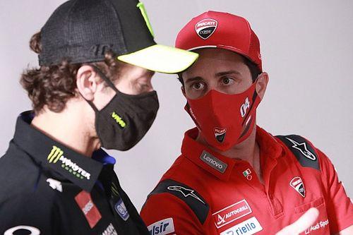 Andrea Dovizioso Akui MotoGP Sulit Cari Pengganti Valentino Rossi