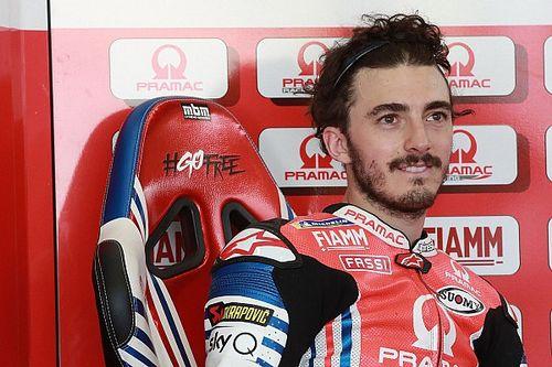 Bagnaia se lesiona la tibia derecha y causa baja en Brno