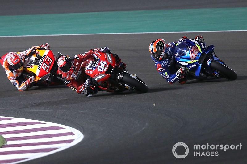 Rins admits Qatar MotoGP battles made him