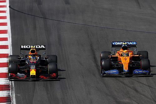 McLaren: Norris puede terminar el año delante de Pérez o Bottas