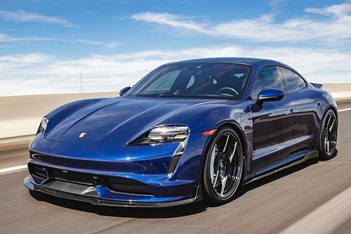 Porsche Taycan ancora più cattiva? Arrivano i kit Vivid Racing