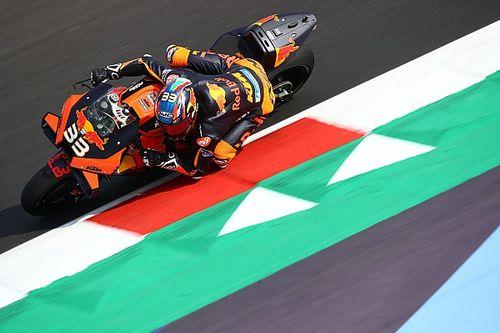 MotoGP, Misano 2, Libere 2: sorpresa Binder, indietro Rossi e Dovi
