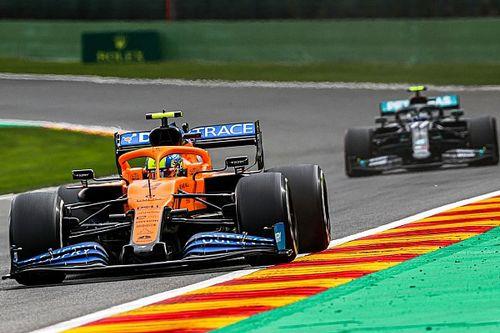 """Norris voit le moteur Mercedes """"bien meilleur"""" que le Renault"""