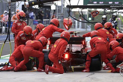 Pour Ferrari, la course de Carlos Sainz s'est jouée au stand