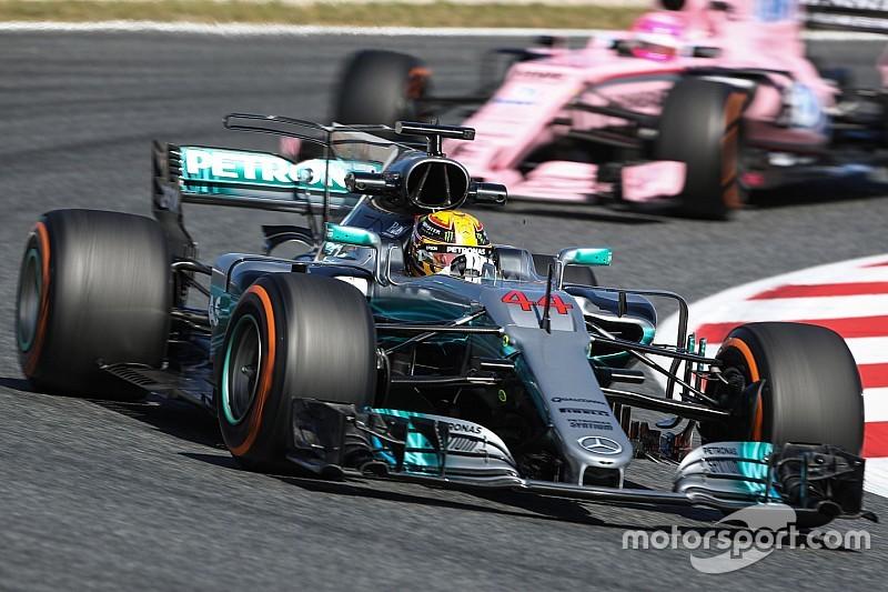 EL2 - Les Mercedes dans un mouchoir, Ferrari en embuscade