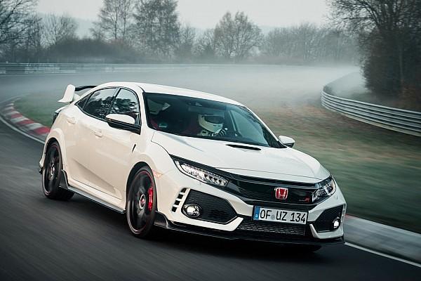 Auto Actualités Record sur le Nürburgring pour la Honda Civic Type R