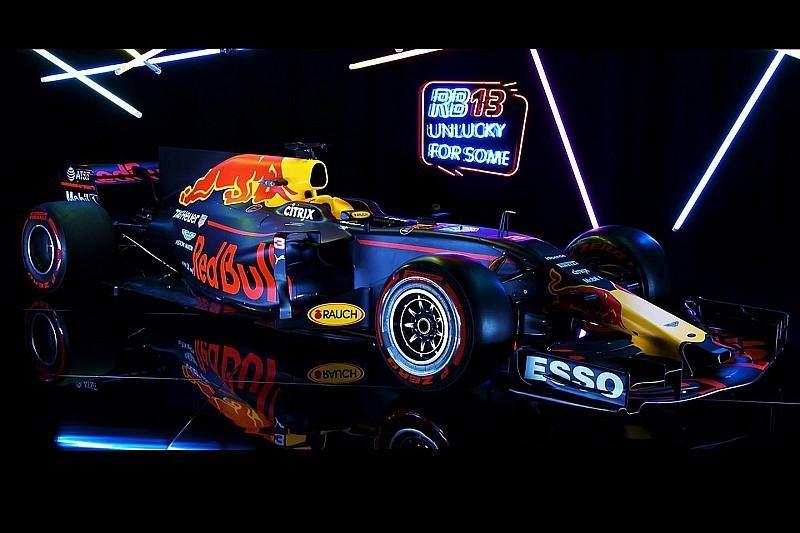 Red Bull представила автомобиль для нового сезона