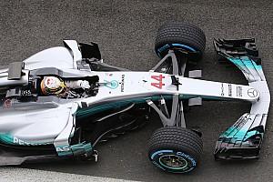Formel 1 News Video: Lewis Hamilton beim Shakedown des Mercedes W08 in Silverstone