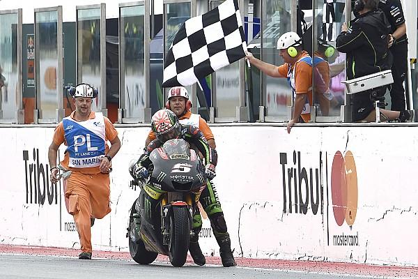 MotoGP MotoGP 2017 in Misano: Laufeinlage rettet Johann Zarco einen WM-Punkt