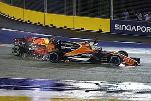 Alonso évite la pénalité moteur après le crash de Singapour