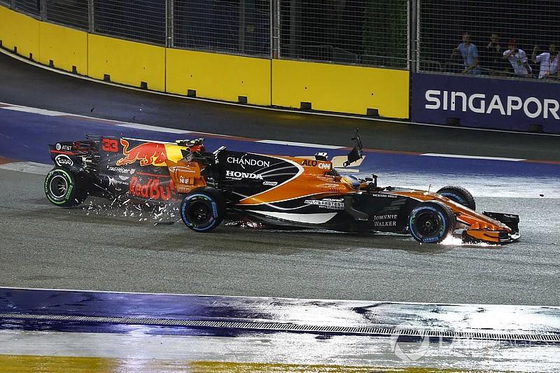 Nach F1-Crash in Singapur: Honda hatte Angst vor weiterem Motorschaden