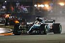 """F1 シンガポールで""""望外""""の勝利。ハミルトン「セナのことを考えていた」"""