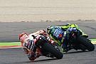 MotoGP Fotogallery: la pioggia condiziona le libere della MotoGP ad Aragon