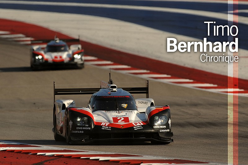 Chronique Timo Bernhard - Le travail collectif de Porsche a payé