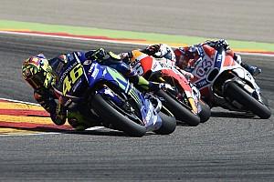 MotoGP Noticias de última hora Los lectores de motorsport.com eligen a Rossi como el mejor del Gran Premio de Aragón