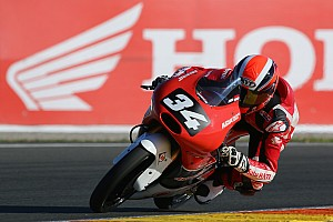CEV Race report CEV Moto3 Valencia: Gilang tutup musim dengan dua kali terjatuh