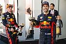 Red Bull quiere renovar a Ricciardo y Verstappen para 2020