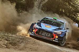 WRC Yarış ayak raporu İtalya WRC: Paddon'un liderliği sürüyor, Neuville geriye düştü