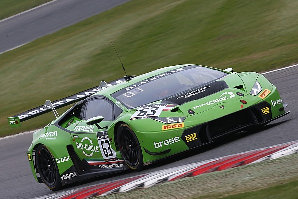 Blancpain Sprint Blancpain Brands Hatch: Bortolotti en Engelhardt zegevieren ook in hoofdrace