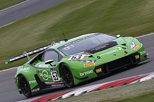 Blancpain Sprint Race report Engelhart and Bortolotti win for Lamborghini at Brands