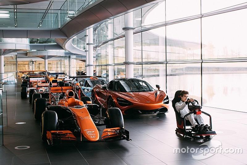 McLaren lanza un concurso de eSports en busca de un piloto de simulador