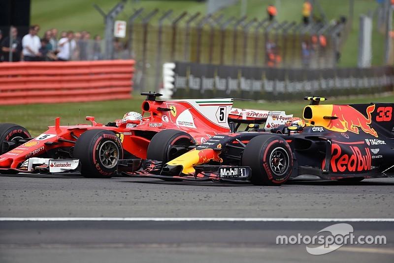 """Vettel: """"Verstappen is nog te fel in de remzones"""""""