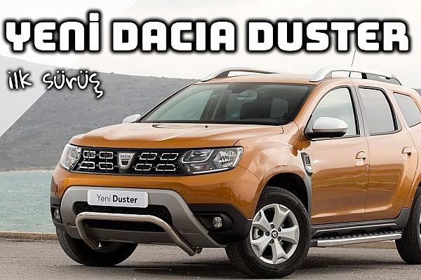 OTOMOBİL Son dakika Yeni 2018 Dacia Duster İlk Sürüş | En Ucuz SUV