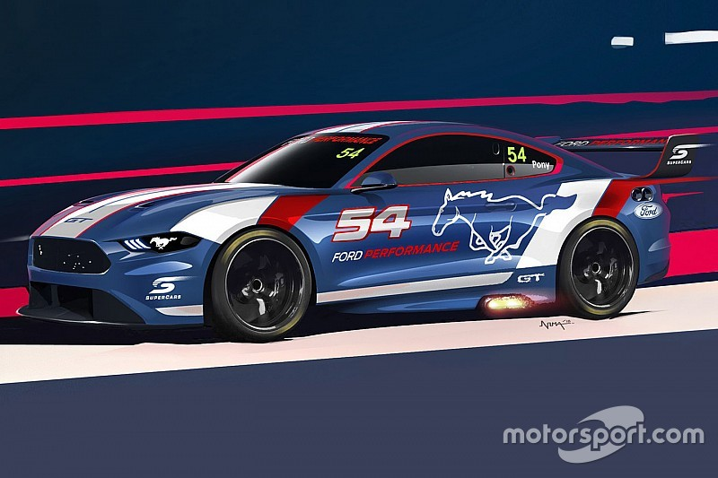 Render Of Supercars Mustang Revealed